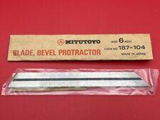 Mitutoyo 187 104 6 Blade For Bevel Protractor In Stock