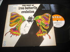 IRON BUTTERFLY/EVOLUTION/THE BEST OF/ATCO/FRENCH PRESS