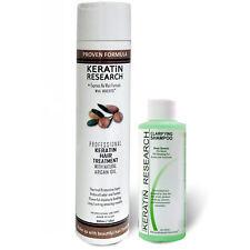 Professional BRAZILIAN KERATIN hair treatment 300ml w/ Clarifying Shampoo 120ml