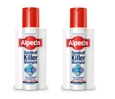 2x Alpecin Dandruff Killer Shampoo 250ml + 2X FREE 15ml samples