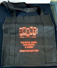 SHOUT FACTORY MERCHANDISE BAG SDCC Exclusive shoutfactory.com