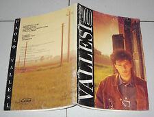 Spartiti PAOLO VALLESI Omonimo Carisch 1991 Sanremo Piano vocal guitar songbook