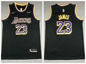 Los Angeles Lakers #23 LeBron James 2021 Earned Jersey Black