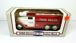 ERTL True Value 1930 Diamond T Tanker Truck Diecast Bank 1/34 Scale 1992 NIB