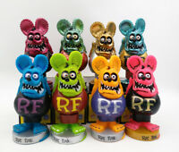 Rat Fink Big Daddy Bobblehead Gift Rare Green Wacky Wobbler Action Figure