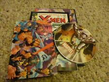 marvel collectibles dvd with small size the x-man comic and postcard