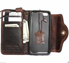 genuine oiled leather davis case for iphone 5s 5 5c c book wallet cover handmade