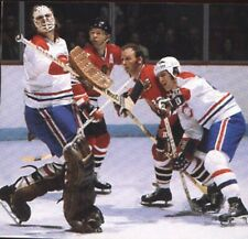 KEN DRYDEN J.LEMAIRE VS STAN MIKITA DENNIS HULL CHICAGO  HOCKEY PHOTO8X11