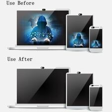 WebCam Shutter Covers Web Laptop iPad Camera Secure Protect your Privacy Black