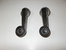 BMW E3 Window Winder Handles Pair Part 1809762 Includes Original Screw and Cover