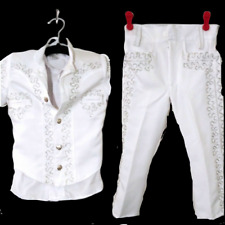 Boys Traje De Charro Size 3T Boys Baptism Halloween Coco Set Pants & Jacket