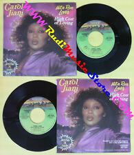 LP 45 7'' CAROL JIANI Hit'n run lover High cost of loving 1982 no cd mc dvd (*)