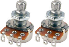 Two Mighty Mite Mm701 Control Potentiometer 250K Linear Short Shaft Mini-Pots