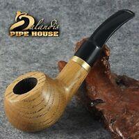 "BALANDIS Original Tobacco Handmade Smoking Pipe Nr 210 "" ANGEL OAK "" NATURAL"