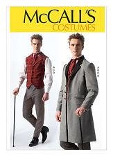 McCall's M7003 MP560 Men's Victorian Steampunk Coat Vest Pants Costume Pattern