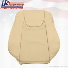 Fits 2012 Lexus RX350 Driver Side Lean Back Perforated Leather Seat Cover Tan