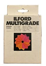 """Ilford Multigrade Filter Set 3½�x 3½"""" /10 Filters Lightly used"""