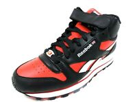 Reebok Cl Lthr Mid Strp Speed Se Mens Shoes 1-146531 Basketball Sneakers Black