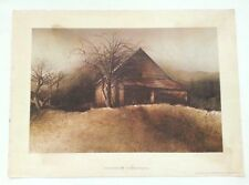 """SIGNED LATE AFTERNOON BY HUBERT SHUPTRINE ART PRINT 1974 OXMOOR HOUSE 15"""" x 11"""""""