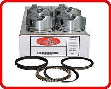 """98-01 Ford/Mazda Ranger B2500  2.5L SOHC L4 8v """"C""""  (4)Dish-Top Pistons & Rings"""