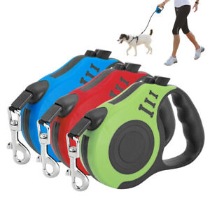 Retractable Dog Leash 16ft Heavy Duty Pet Walking Leads for Medium Large Dogs