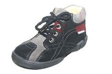 Scarpe neri per bambini dai 2 ai 16 anni lacci , Numero 23