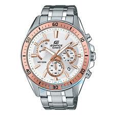 Nuevo Casio Edifice EFR-552D-7A Reloj De Acero Inoxidable