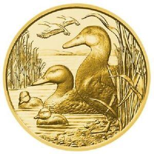 Österreich - 100 Euro 2018 - Wildtiere - Die Stockente (6.) - 16,23 gr Gold PP