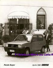 FOTOGRAFIA ORIGINALE GRANDE FORMATO _ automobili _ FIAT PANDA SUPER _Aprile 1986