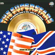 """COMPILATION """" THE SUPERSTARS  STARS ON 45  (STEVIE) """" LP  SIGILLATO  WEA ITALY"""