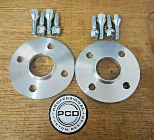 MINI Cooper S 2006-14 Wheel Spacers 11mm Wide 56.1CB Extended WheelBolts UK Made