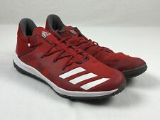 adidas Speed Turf Cleats Men's Red/White Used Multiple Sizes