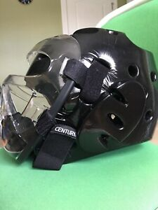 Macho Martial Arts ATA Padded Head Gear Helmet Removable Face Shield YOUTH Large
