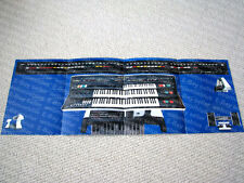 MAKE OFFER - Yamaha EX-42 Electone keyboard brochure, ULTRA RARE