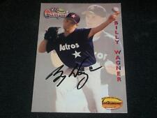Astros Phillies Mets Billy Wagner Signed Auto 1994 TWCC Card #134  TOUGH  A17