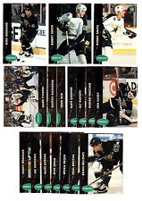 1X MINNESOTA NORTH STARS 1991-92 Parkhurst FULL TEAM SET Lots Avail Series 1 & 2