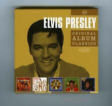 BOX 5 CDs ELVIS PRESLEY ORIGINAL ALBUMS CLASSICS