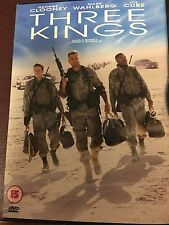 three kings DVD with Clooney, Wahlberg and Ice Cube