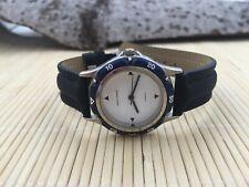 Patrick Arnaud quarz watch - stylish design - leather style strap - 31mm - new