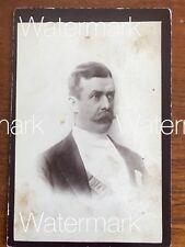Vintage Antique Photograph Man Australia