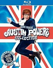 Austin Powers Collection - Shagadelic Edition Loaded with Extra Mojo (Blu-ray.