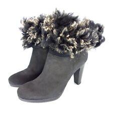 Progetto Glam Damen Winter Stiefeletten Boots Größe 36 37 38 39 Lammfell Leder