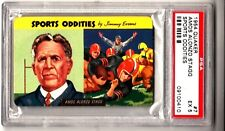 1954 Quaker Sports Oddities #7 - Amos Alonzo Stagg - PSA 5 - EX