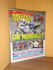 MotoSprint - n° 15 - 8 / 14 Aprile 1992 - Cagiva Mito 125 / Aprilia Pegaso 650