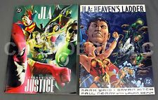 DC Justice League of America Liberty & Justice + Heaven's Ladder Oversized Comic