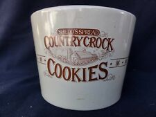 Shedd's Spread Country Crock Cookie Jar - How Often Do U See This