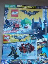 NEW THE LEGO BATMAN MOVIE SPECIAL LIMITED EDN MAGAZINE GIANT ED 1 #1 +30522 SET