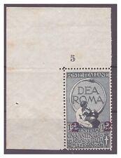 REGNO 1911  -  UNITA'  D'ITALIA   CENT.  2 su 15    NUOVO  ** NUMERO DI TAVOLA