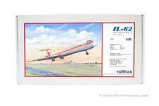 IL-62 Interflug Modell Bausatz 1:100 Iljuschin IL 62 Flugzeugmodell reifra Flug