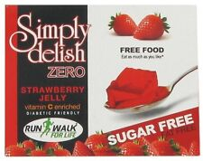 Sugar Free Strawberry Jelly-8g, Fat Free, Dukan, Low Carb, Diabetic,Gelatin Free